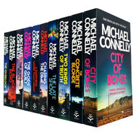 Michael Connelly Harry Bosch Series 10 Books Collection Set NEW