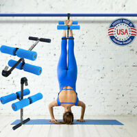 Adjustable Hang Inversion Back Pain Relief Therapy Fitness Exercise Heavy Duty