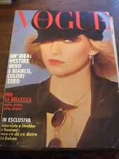 Vogue Italia Magazines, Vintage 1976, 10 Magazines Including Supplements, Bulk