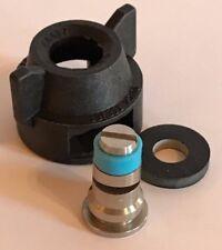 TeeJet Stainless Steel Tf-Vs5 Turbo FloodJet Spray Tip 5 tips, Free Caps Gaskets