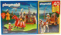 RITTER EXCLUSIV EDITION 40 Jahre Playmobil Jubiläum 5168 v`13 zu Turnier OVP NEU