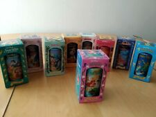 Burger King Disney Collector Series 9 Cups/Glasses including Little Mermaid