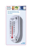 Taylor  4 in. Indoor and Outdoor  Tube Thermometer, 4763
