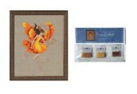 Nora Corbett Mirabilia Cross Stitch PATTERN & EMBELLISHMENT PK Autumn Flame N251