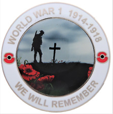 First World War Ww1 Centenary We Will Remember Commemorative Coin - Boxed