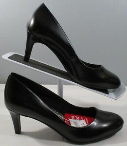 New Women's Deflex Comfort 171648 Karma Design Black High Heels Shoe Size 6 W mk