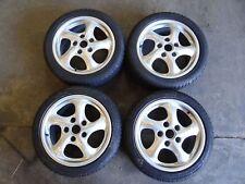 Porsche Felgen Winterräder 7x17 ET55 8,5x17 ET50 Dunlop 205/50R17 225/45R17