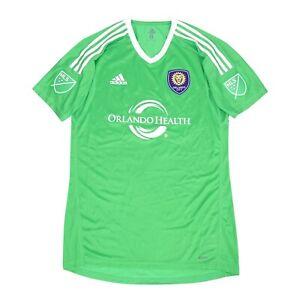 Orlando City SC MLS Adidas Men's Energy Green Short Sleeve Goalkeeper Jersey