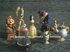New Rare Full Set! -Beauty and the Beast- Tiny! 7 Figures incl Rose Disney Egg