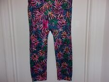 No Boundries Capri Leggings XL Red Bandana Cotton Cropped Length Footless NWT