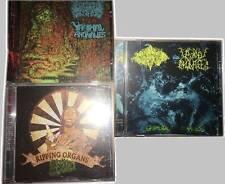 3 CD's Grindcore CD LOT