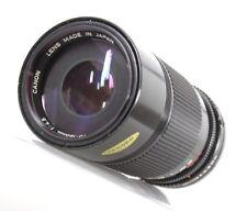Canon FD 70-150mm / 4.5 Objektiv lens objectif - (7561)