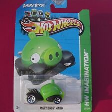 """Angry Birds MINION """"Green"""" HW Imagination SNORRRT!!! New SEALED in Blister Pack!"""