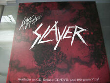 Slayer Rare Kerry King Signed Promo Poster Board World Painted Blood + Photo COA