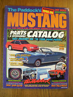 The Paddock's Mustang Parts & Accessories Catalog Covers 1964 - 1995 GC Mustang5