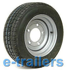 "185 60 R12 C COMPASS CT7000 TRAILER TYRE ON 5 STUD 6.5"" PCD RIM - IFOR WILLIAMS"