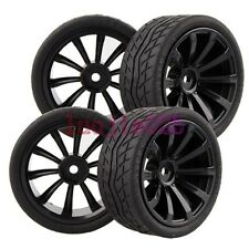 6mm Offset RC 1/10 On-Road Car lines Foam Rubber Tyres Tires &Wheel Rim 601-8004