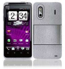 Skinomi Brushed Aluminum Phone Skin+LCD SP for HTC Evo Design 4G Boost Mobile
