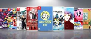 Replacement Nintendo Switch Covers And Cases Titles F-M  !!NO GAMES!!