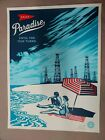 Paradise Turns   x/450 Obey Giant Shepard Fairey 2014 Art Print Poster