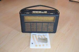 Kofferradio Transistorradio Philips Henriette L3D23T mit Bedienungsanleitung