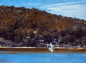 Tom Roberts, The Camp Sirius Cove 1899, Fade Resistant HD Art Print or Canvas