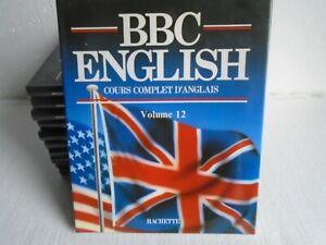 """Méthode Anglais """"BBC english"""" Hachette 11 / 12 volumes"""