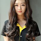 New Women Fashion Full Head Clip Curly/Wavy Women Synthetic Human Hair Extension