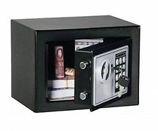 Digital Electronic Safe Small Black Box Combo Keypad Lock Home Office Hotel Gun