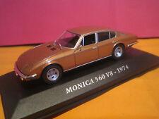 IXO 1/43 SUPERBE MONICA 560 V8~~1974 NEUF BOITE P5