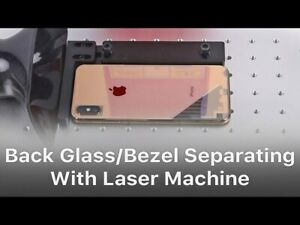 Apple iPhone BACK GLASS repair service , SAME DAY SERVICE we use laser machine