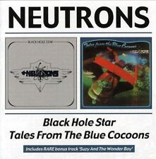 NEUTRONS - BLACK HOLE STAR / TALES FROM THE BLUE COCOONS  -  CD (UK 1974/75)