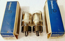"""GE 6L6GC NOS NIB 2-Tubes """"OO"""" Gtr Oval Mica TESTED MATCHED Pair  1979 USA  MINT!"""