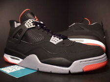 Nike Air Jordan IV 4 Retro COUNTDOWN CDP BLACK FIRE RED CEMENT GREY WHITE 10.5
