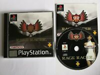Rage Racer Jeu Game Sony PlayStation One 1 Ps1 PS 1 Namco testé