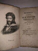 Mémoires de Monsieur le Bon Pergami - 1820