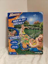 Banzai Aqua Blast Hockey Outdoor Water Play Game Ages 3+ NEW