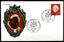 Papst Johannes XXIII. FDC(3). BRD 1969