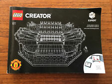 lego Creator Manchester United Football Manual Only