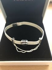 Pandora Reflexion Bracelet With Safety Chain And Heart Charm Comes In Pandora Bo