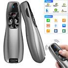 For PC Laptop PPT Presentation Remote Wireless Presenter Laser Pointer Clicker