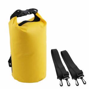 Motorcycle Outdoor PVC Waterproof Dry Sack Backpack Collapsible Storage Bag 2L