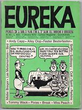 EUREKA N.40 editoriale corno 1970 don martin max bunker & piffarerio alley oop