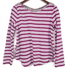 Anthropologie Postmark Laurelwood Women's Shirt Size XS Stripe Top Boat Neck Tee