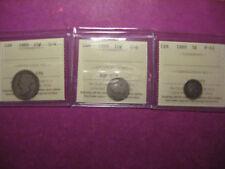 Extra Rare 1889 Canada coin set