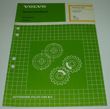 Werkstatthandbuch Volvo 440 460 480 Kraftstoffanlage B 18 K B18K B 18 KP B18KP!