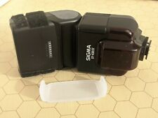 Electronic Camera Flash - Sigma EF-430 ST NA/D with light diffuser- for Nikon