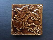 Skeleton Rider On Skeleton Horse Ceramic/Plaster Tile, Skull Makers Mark