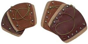 """Neet 53463 Deluxe Traditional Armguard Brown 6.25"""""""