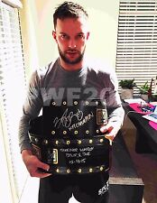 WWE NXT FINN BALOR HAND SIGNED REAL NXT CHAMPIONSHIP BELT WITH PIC PROOF 3